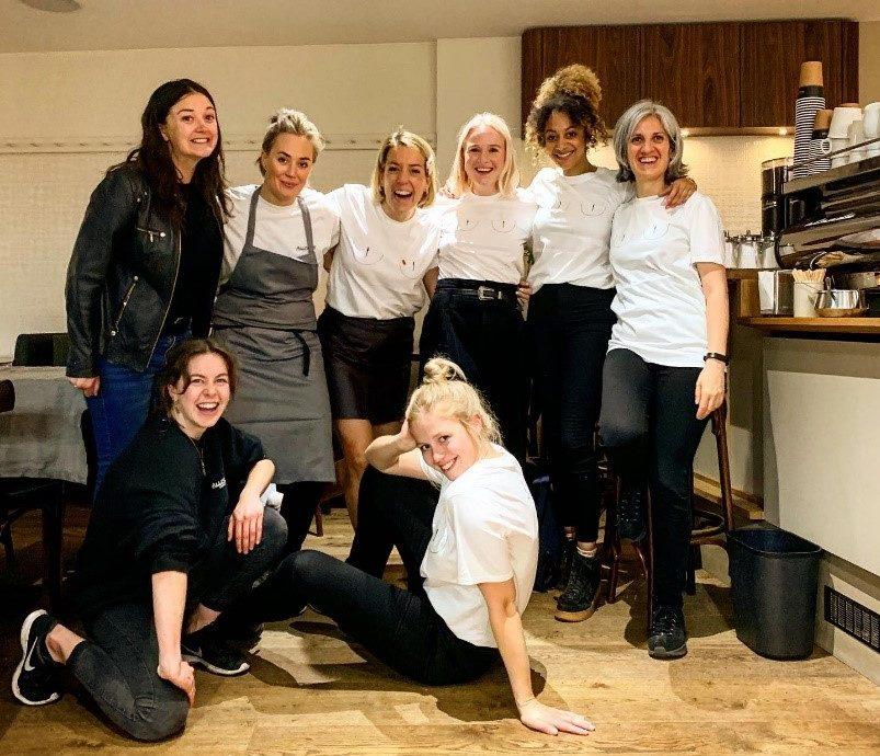 Ladies of restaurants